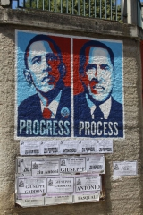 Obama: Progress. Berlusconi: Prosess