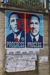 Obama: Progress. Berlusconi: Prosess
