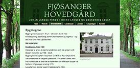 Skjermdump Fjøsanger Hovedgård
