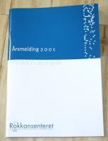 Årsmelding for Rokkansenteret, 2001