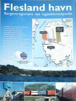 Visjonsbrosjyre Flesland Havn, for Wikos