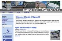 Karstein Vaagenes nettside