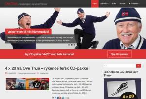 ovethue.no: hjemmeside og nettbutikk