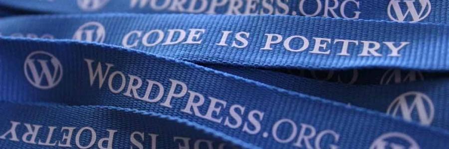 Vi skaffer deg nytt <br>nettsted med WordPress
