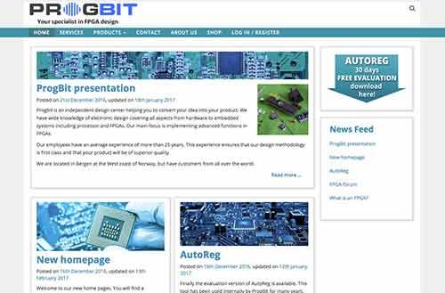 Progbit – spesialister i FPGA design