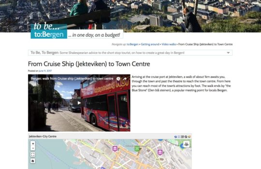 ToBergen.com – nettsted for én-dags turister i Bergen